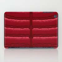 Abstract Red Quilt    iPad Case
