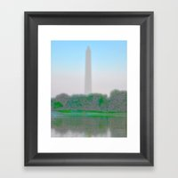 Washington Monument  Framed Art Print