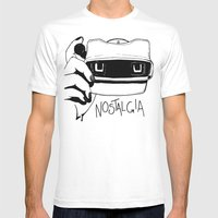 Nostalgia Mens Fitted Tee White SMALL