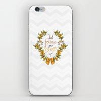Flower laurel iPhone & iPod Skin
