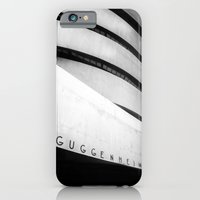 iPhone & iPod Case featuring Guggenheim  by Studio Laura Campanella