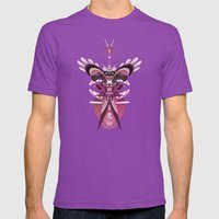 Little Angel Mens Fitted Tee Ultraviolet SMALL