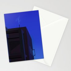 The city at night Stationery Cards