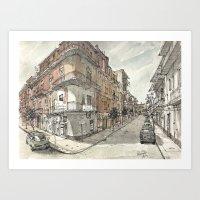 Italy Sketchbook Art Print