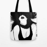 Pin Up White Version Tote Bag
