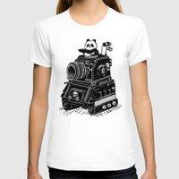 panda T-shirts featuring Panda by Ronan Lynam