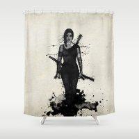 Onna Bugeisha Shower Curtain