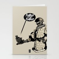 To Bot Or Not To Bot Stationery Cards