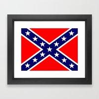 Confederate Third Nation… Framed Art Print