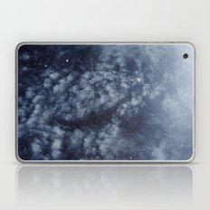 Blue veiled moon II Laptop & iPad Skin