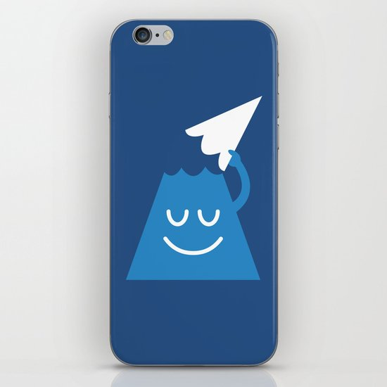 A Friendly Mountain Greeting iPhone & iPod Skin