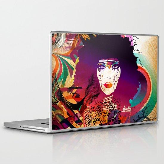 Afro Girl Laptop & iPad Skin