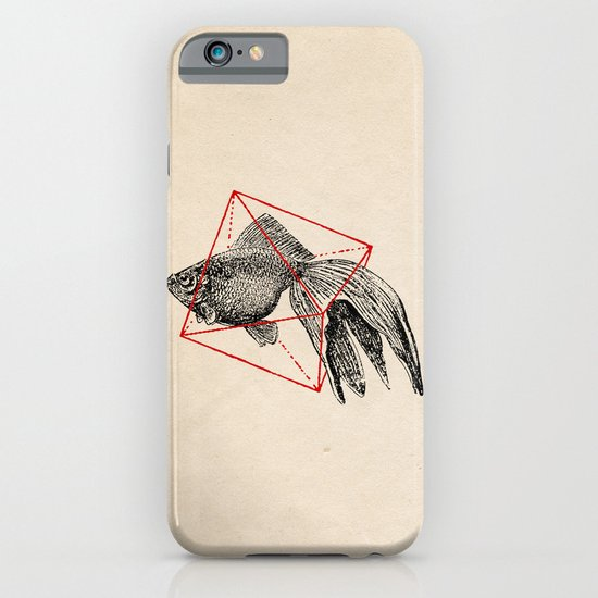 Fish In Geometrics III iPhone & iPod Case