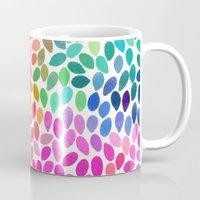 rain 5 sq Mug