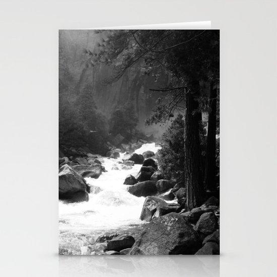 Whiteout Yosemite-2 Stationery Card