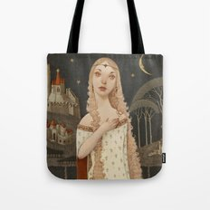 Lady Light  Tote Bag