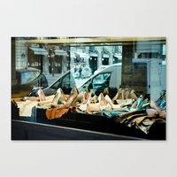 Heaven for her Canvas Print