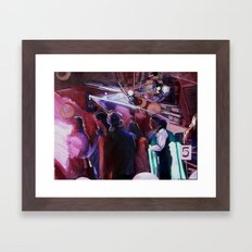 The Wedding Dancers Framed Art Print