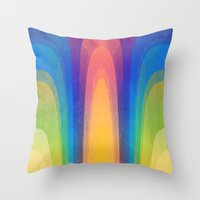 Chroma #3 Throw Pillow