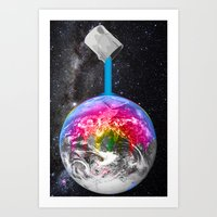 Canopy Of Color Art Print