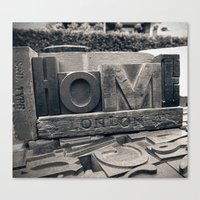 Letters Home Canvas Print