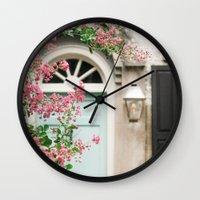Charleston Doorway Wall Clock