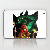 A wizard in the dark Laptop & iPad Skin