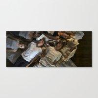 bodiess Canvas Print