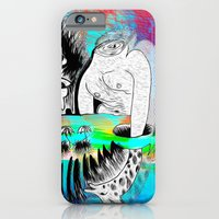 iPhone & iPod Case featuring Giraffe Eyes in the Magnetic Field by Isaac Isaac