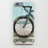 iPhone & iPod Case featuring Tour Down Under Bike Race by Wyatt Design