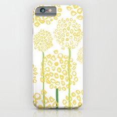 Yellow Flowers Slim Case iPhone 6s