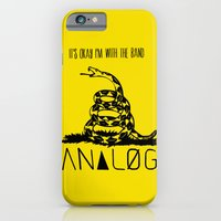 iPhone & iPod Case featuring Snake and Band (Analog Zine) by Joe Hilditch