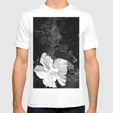 White Silk White Mens Fitted Tee SMALL