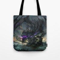Black Dragon Tote Bag