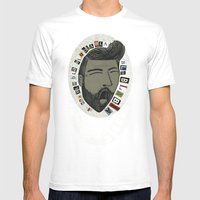 Bla bla bla... Mens Fitted Tee White SMALL
