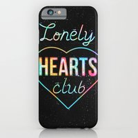 Lonely hearts club iPhone 6 Slim Case