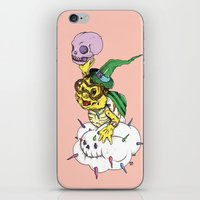 Lakitu in the Sky with Zombies iPhone & iPod Skin