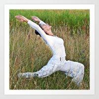 Meditative Summer Dance Art Print