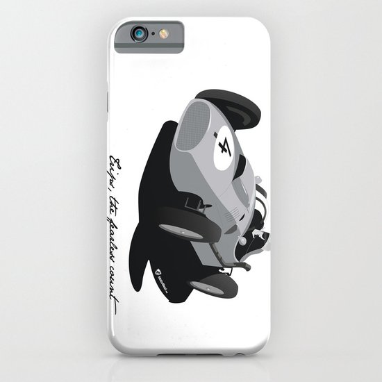 Fearless Count Black & White iPhone & iPod Case