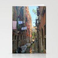Venetian Waterway 2 Stationery Cards