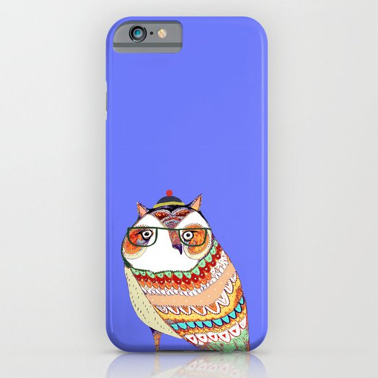 Owl, owl art, owl illustration, owl print,  iPhone & iPod Case