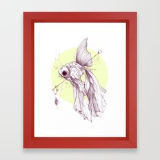 Visual, Verbal, Effervescent Framed Art Print