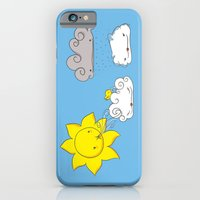 iPhone & iPod Case featuring Cloud Coiffeur by Lili Batista