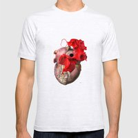 Broken Heart - Fig. 2 Mens Fitted Tee Ash Grey SMALL