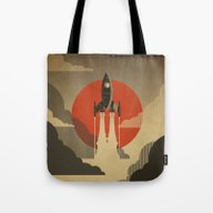 The Voyage (Grey) Tote Bag