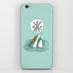 The Ninja Shark iPhone & iPod Skin