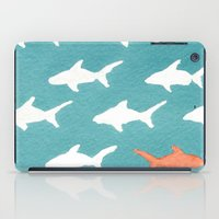 Splashy Sharks iPad Case