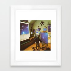Cosmic studio  Framed Art Print