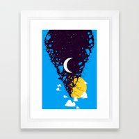 The Break Of Day Framed Art Print