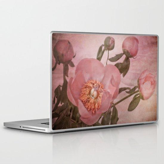 Peony in Bloom. Laptop & iPad Skin
